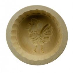 Forma in acero per burro o formaggio ø cm 11 per 250 g