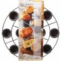 Popover griglia con 12 porzioni antiaderenti ø mm 35