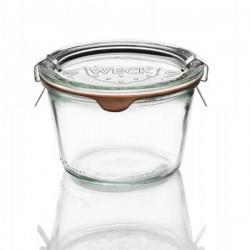 Barattolo in vetro per sterilizzare Weck 370 ml ø cm 10