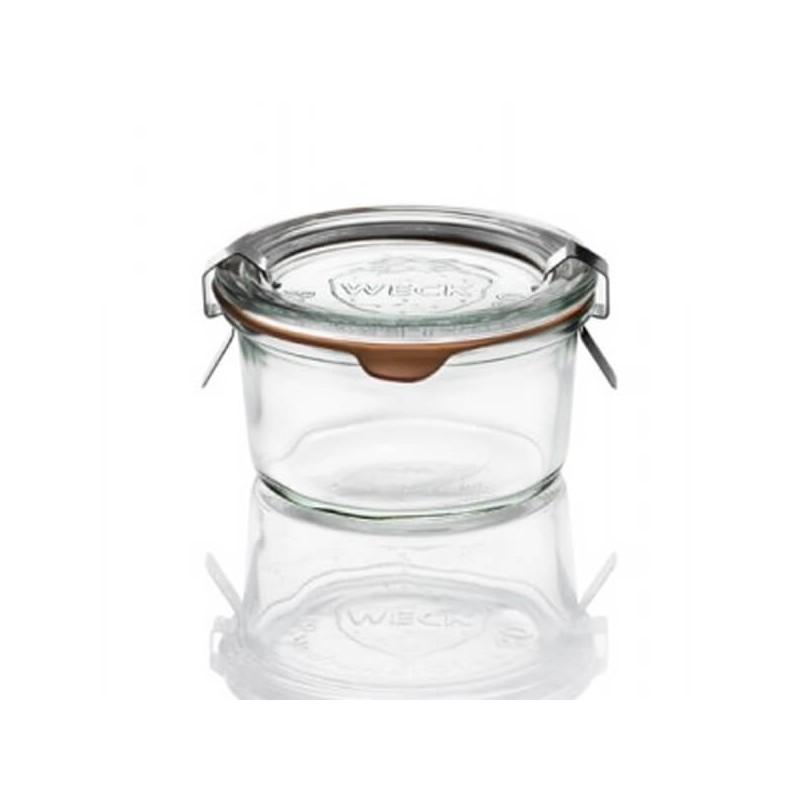 Barattolo mini in vetro per sterilizzare Weck 165 ml ø cm 8