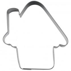 Casetta cm 6 formina tagliabiscotti inox