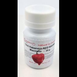 Chili Habanero Red Savina macinato