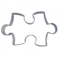 Puzzle cm 9 formina tagliabiscotti inox