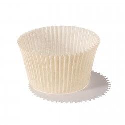 Pirottini muffin e cupcake mm 55 h 42 - ecrù - 105 pezzi