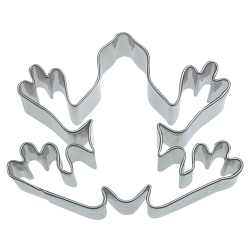 Rana cm 6 formina tagliabiscotti inox