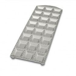 Tavola in alluminio x ravioli - 24 impronte