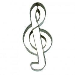 Chiave di Violino cm 10 - formina tagliabiscotti inox