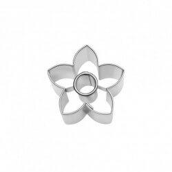 Fiorellino 5 petali ø cm 4 formina tagliabiscotti inox