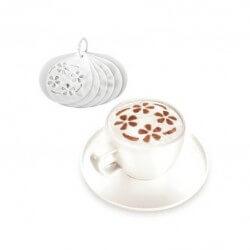 6 Dischi decorativi per cappuccino - myDRINK