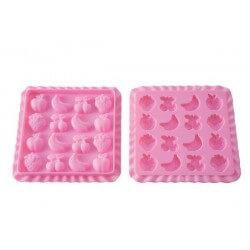 Easy Candy Tutti Frutti Slim 16 cavità - Silikomart