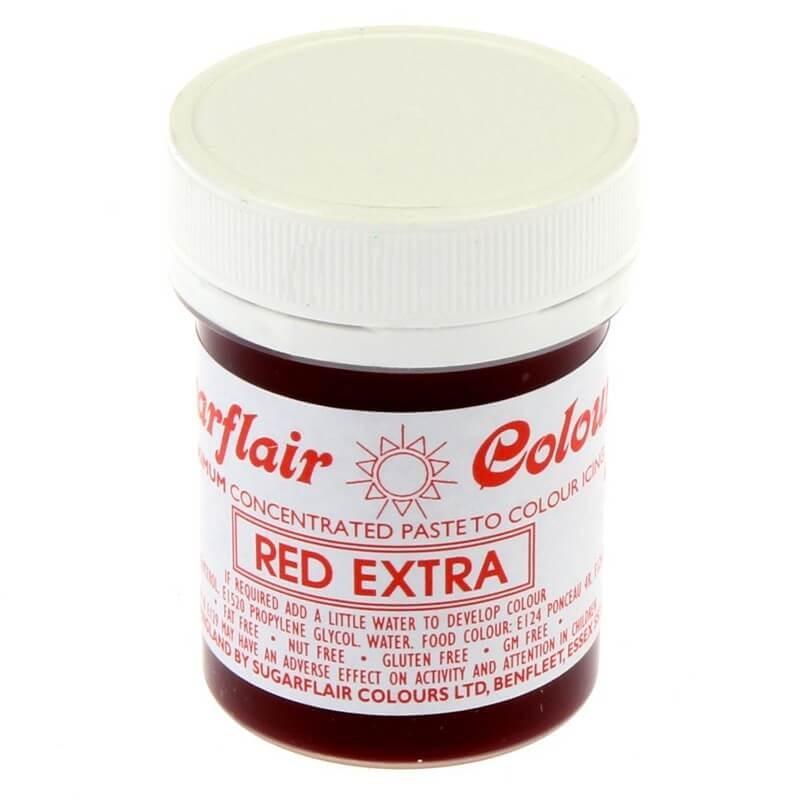 Rosso alimentare in pasta extra concentrata g 42