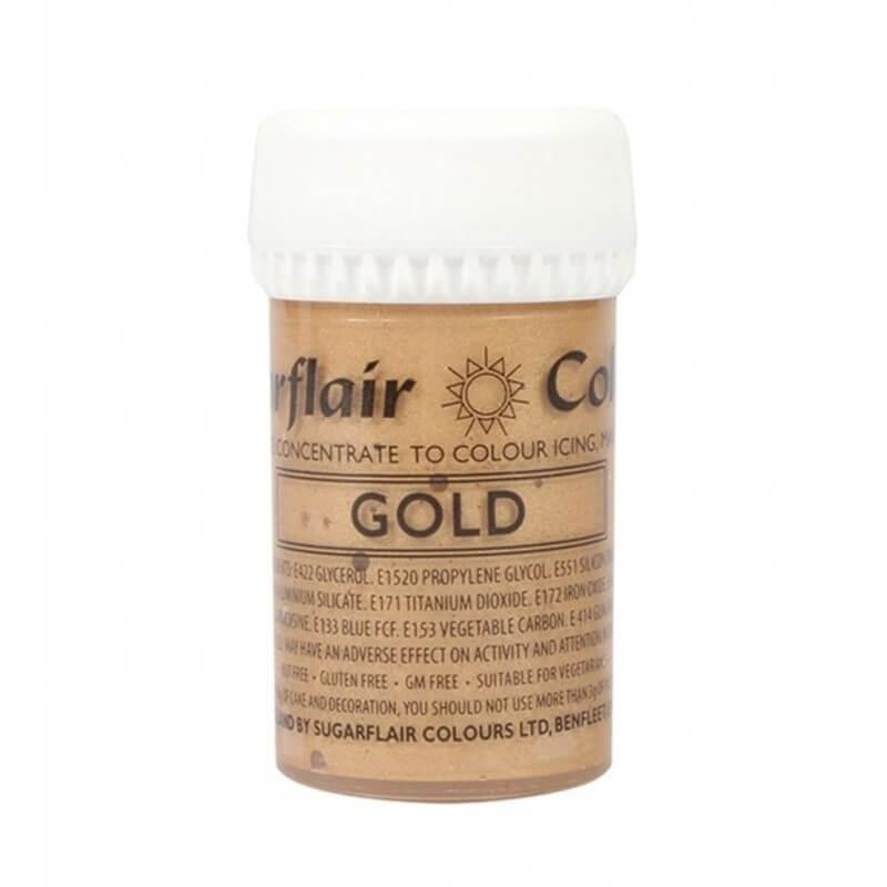 Oro gold alimentare in pasta concentrata g 25