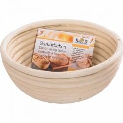 Cestino rigapane in legno tondo per 1 kg