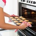 Teglia antiaderente 12 cupcake con sede frosting