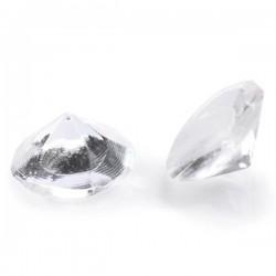 Diamanti trasparenti in gelatina ø cm 1 - 20 pz