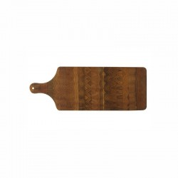 Tagliere rettangolare  in legno di acacia con manico