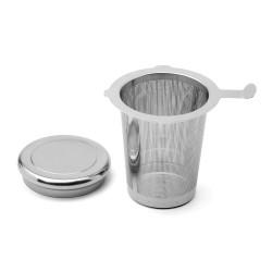 Filtro da te in acciaio inox - ø mm 75 h cm 8