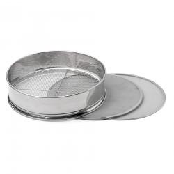 Setaccio in acciaio inox ø cm 30 - 3 griglie intercambiabili