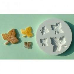 Dekoflex Foglie Acero - silicone moulds Maple Leaf