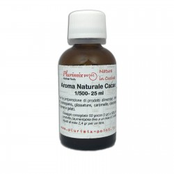 Aroma naturale Cacao 1/500 - 25 ml