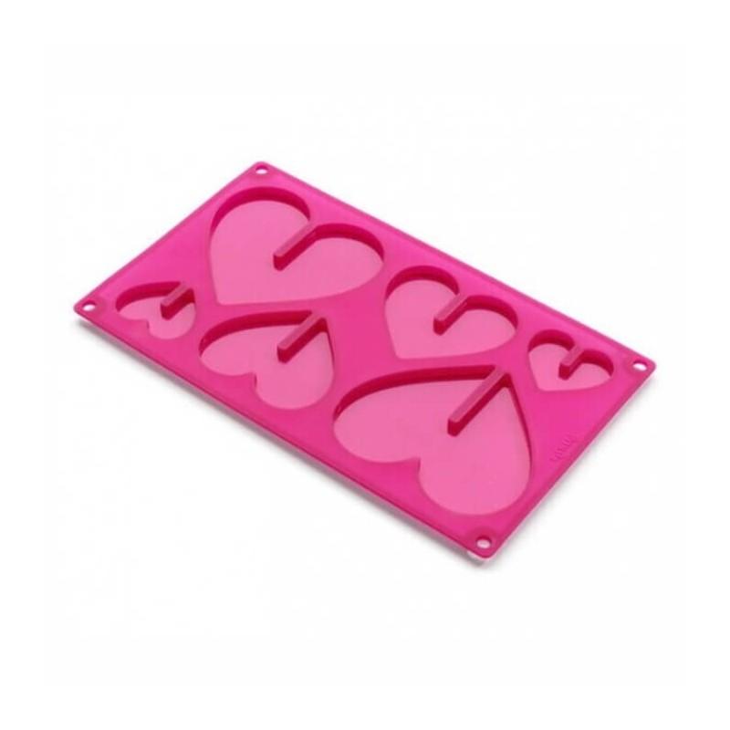 Stampi cioccolato Cuori 3D LOVE - Lékué