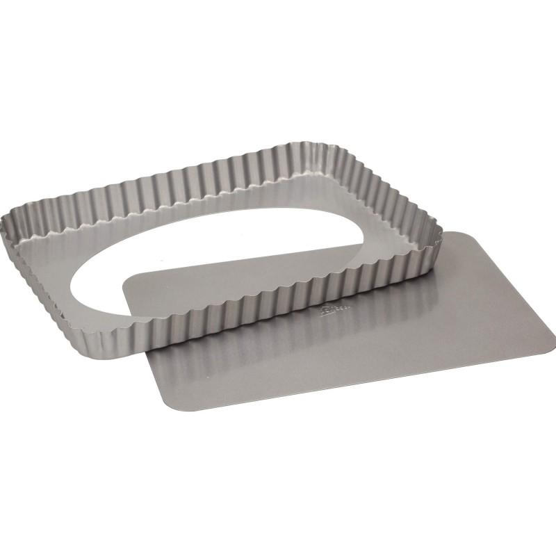 Crostata antiaderente fondo sollevabile cm 32x22