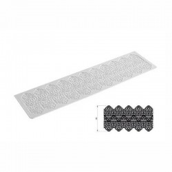 Tappeto Tricot Decor dentelle 400 x 100 mm - Silikomart