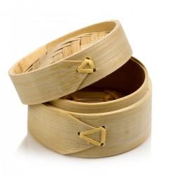 Cestino in bambù x cottura a vapore ø cm 8