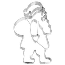 Babbo Natale mm 185 tagliabiscotti inox