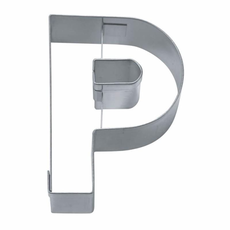 Lettera p mm 65 formina tagliabiscotti inox altavistaventures Choice Image