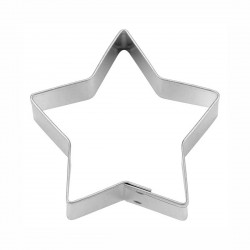 Stella 5 punte tagliapasta ø cm 7 - inox