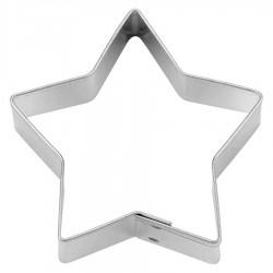 Stella 5 punte tagliapasta ø cm 9 - inox