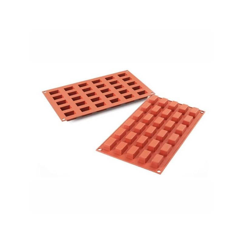 Mini Cakes in silicone mm 30 x 18 h 16 - 30 cavità