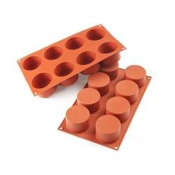 Cilindri in silicone ø mm 63 h 40 - 8 cavità