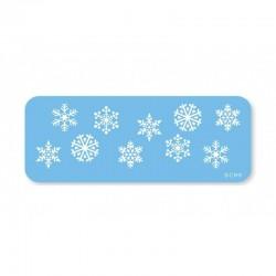 Stencil fiocchi di neve ø cm 2,5