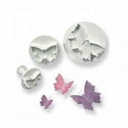 Sagome c/estrattore farfalla pz 3 mm 30-45-60