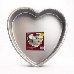 Tortiera in alluminio a cuore ø cm 35 h mm 75