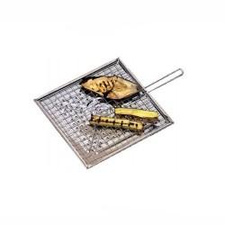Gratella tosta polenta - verdura - pane - cm 25x25 - inox