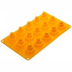 Tortine a 3 piani in silicone ø cm 4 - 15 cavità
