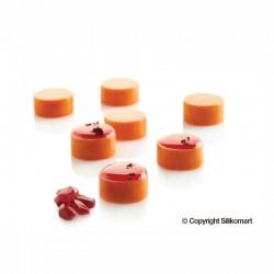 Micro Round 5 in silicone 35 cavità - Silikomart