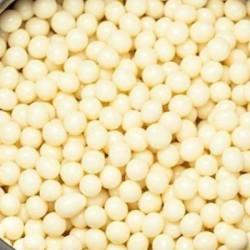 Perle croccanti di cioccolato bianco 34% Opalys Valrhona