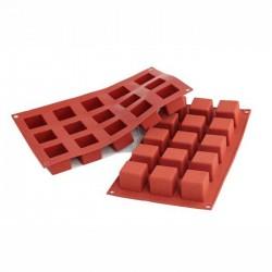 Cubo in silicone mm 35x35x35 - 15 cavità
