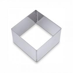 Coppapasta inox quadrato cm 6x6 h cm 4