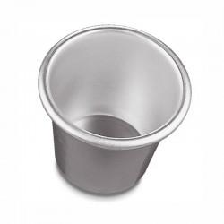 Babà in alluminio con orlo ø mm 50/70