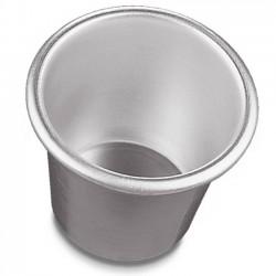 Babà in alluminio con orlo ø mm 70/90