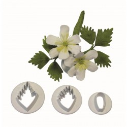Anemone Nemorosa set cutter - ø cm 3