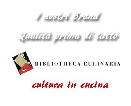 Bibliotheca Culinaria cultura in cucina